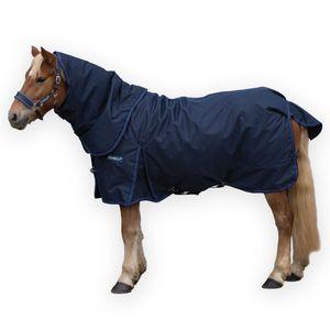 Loveson Plus 200g Turnout Blanket - Navy/Navy/Blue