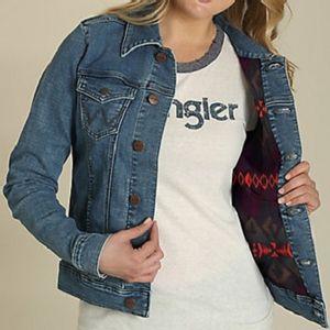 Wrangler Women's Lined Denim Jacket