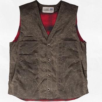 Stormy-Kromer-Men-s-Waxed-Button-Vest---Dark-Oak-20158