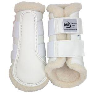 DSB Dressage Sport Boots - Matte - White/White