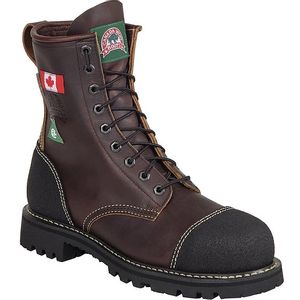 Canada West Men's 34317 CSA Lace Work Boots - Pecan Tumble