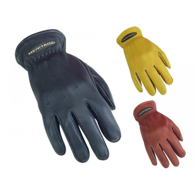 Heritage-Sheepskin-Leather-Winter-Trail-Riding-Gloves---Natural-Tan-84551
