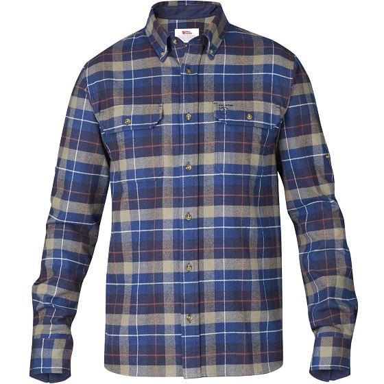 Fjallraven-Men-s-Singi-Heavy-Flannel-Shirt---Navy-112441