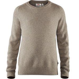 Fjallraven Men's Greenland Re-Wool Crew Neck Sweater - Driftwood