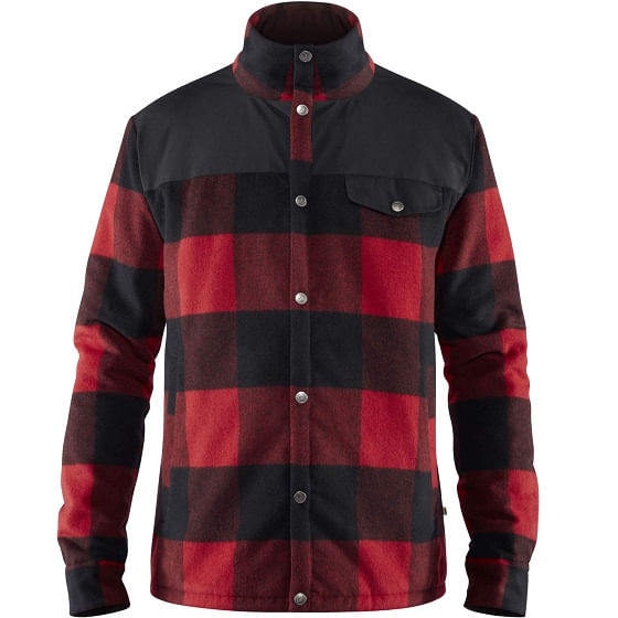Fjallraven-Men-s-Canada-Wool-Padded-Jacket---Red-137964