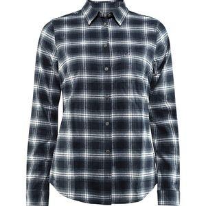 Fjallraven Women's Ovik Flannel Shirt - Dark Navy