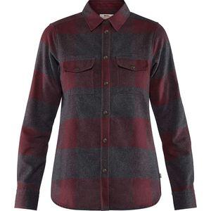 Fjallraven Women's Canada Shirt - Dark Garnet
