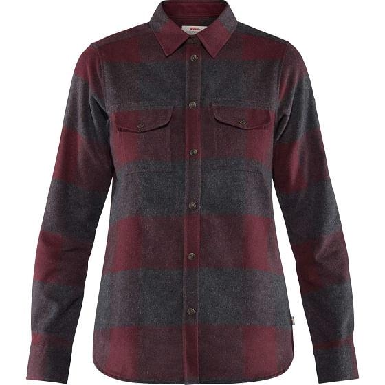 Fjallraven-Women-s-Canada-Shirt---Dark-Garnet-150390