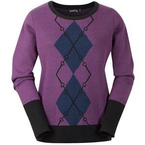 Kerrits Ladies Double Diamond Sweater - Thistle