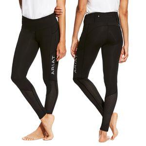 Ariat Women's EOS Kneepatch Tight - Black