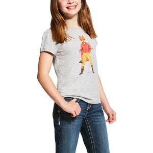 Ariat Kids Fox Hunter Tee - Heather Grey