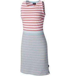 Columbia Women's Harborside Knit Sleeveless Dress - Cirrus Grey Multi Stripe