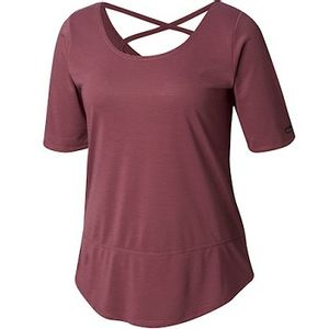 Columbia Women's Anytime Casual Short Sleeve Shirt - Antique Mauve