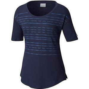 Columbia Women's Longer Days Short Sleeve Shirt - Nocturnal