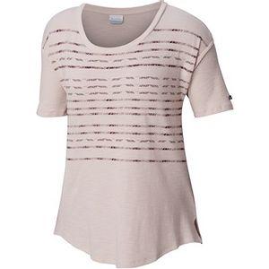 Columbia Women's Longer Days Short Sleeve Shirt - Mineral Pink