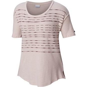 Columbia-Women-s-Longer-Days-Short-Sleeve-Shirt---Mineral-Pink-230663