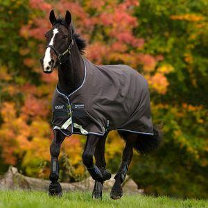 Amigo Bravo 12 Original 400g Pony Turnout Blanket - Excalibur/Strong Blue/Black