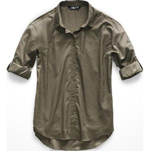 The North Face Women's Long Sleeve Desercana Top - New Taupe Green