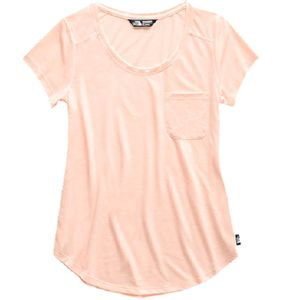 The North Face Women's Short Sleeve Boulder Peak Top - Pink Salt Heather