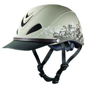 Troxel Dakota Low Profile Max Ventilation Riding Helmet - Traildust