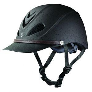 Troxel Dakota Low Profile Max Ventilation Riding Helmet - Grizzly Brown
