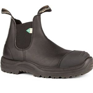 Blundstone CSA 168 - Work & Safety Rubber Toe Cap Black