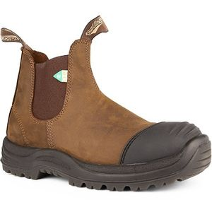 Blundstone CSA 169 - Work & Safety Rubber Toe Cap Crazy Horse