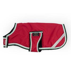 Amigo Dog Blanket - Red/Green/White/Black