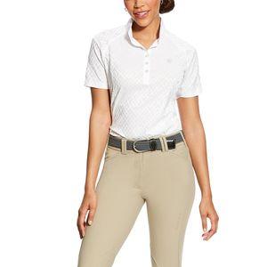 Ariat Women's Showstopper Show Shirt - White