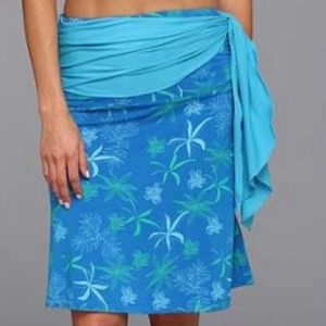 Kuhl Women's Kai Convertible Skirt - Azure Print