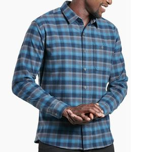 Kuhl Men's The Independent Long Sleeve Shirt - Midnight Sky