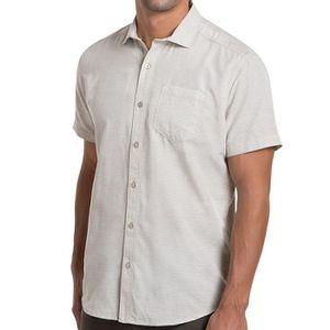 Kuhl Men's Riveara Short Sleeve Shirt - Sand Dune