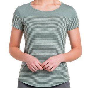 Kuhl Women's Tate Short Sleeve Top - Fern
