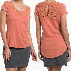 Kuhl Women's Lively Short Sleeve Shirt - Tuscany