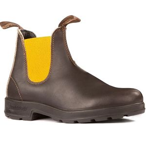 Blundstone Original with Mustard Elastic (1919) - Stout Brown