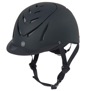 Dublin Chevron Riding Helmet - Black