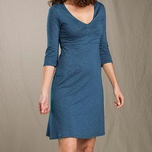 Toad & Co Women's Rosalinda Dress - Blue Wing Teal