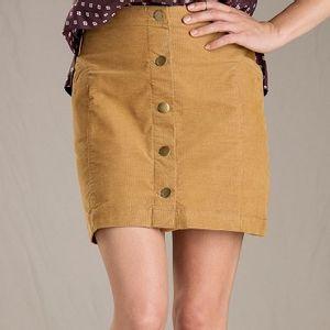 Toad & Co Women's Mindy Skirt - Dijon