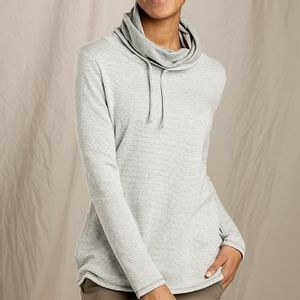 Toad & Co Women's Cold Spring Pullover - Light Ash Stripe