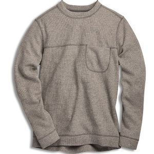 Toad & Co Men's Breithorn Crew Sweater - Light Ash