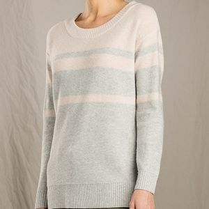 Toad & Co Women's Plateau Crew Sweater - Light Heather Grey