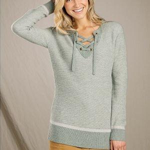 Toad & Co Women's Mitchell Sweater Tunic - Seaspray