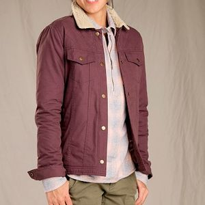 Toad & Co Women's Kenai Sherpa Jacket - Huckleberry