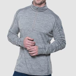 Kuhl Men's Alloy 1/4 Zip - Silver Fox