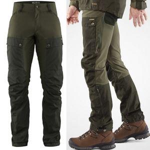 Fjallraven Men's Keb Trousers - Deep Forest/Laurel Green