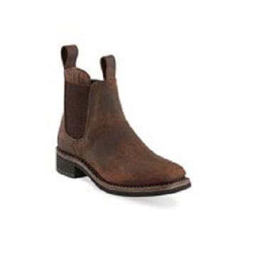 Old-West-Youth-s-Leather-Square-Toe-Chelsea-Boots-133791