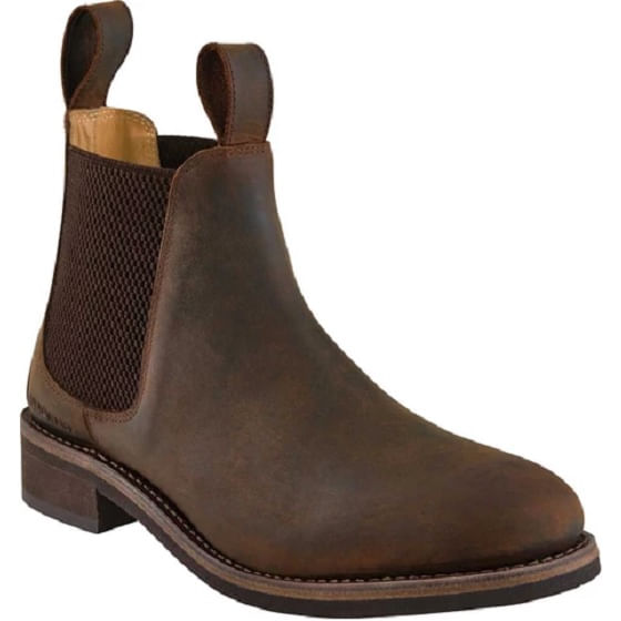Old-West-Men-s-Leather-Round-Toe-Chelsea-Boots-58825