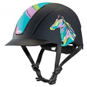 Troxel Spirit Helmet - Pony Pop Art