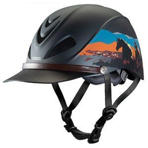 Troxel Dakota Low Profile Max Ventilation Riding Helmet - Badlands