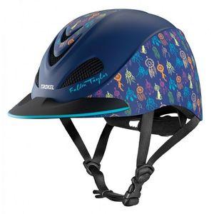 Troxel Fallon Taylor Riding Helmet - Navy Dreamcatcher